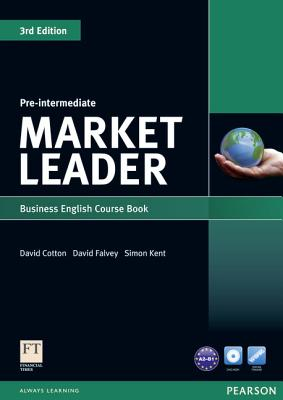 Market Leader 3rd Edition Pre-Intermediate Coursebook & DVD-Rom Pack - Cotton, David, and Falvey, David, and Kent, Simon