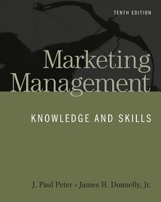 Marketing management knowledge skills book by j paul peter 7 marketing management knowledge and skills peter j paul and donnelly james fandeluxe Images