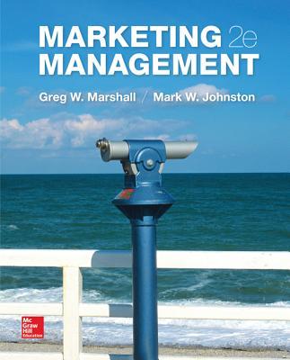 Marketing Management - Marshall, Greg W., and Johnston, Mark W.