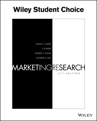 Marketing Research - Aaker, David A