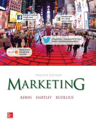 Marketing with Connectplus - Kerin, Roger, and Hartley, Steven, and Rudelius, William