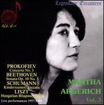 Martha Argerich, Vol. 3: Prokofiev, Beethoven, Schumann, Liszt