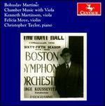 Martinu: Chamber Music with Viola