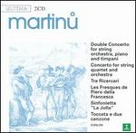 Martinu: Double Concerto; Concerto for string quartet and orchestra; Tre Ricercari