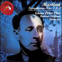 Martinu: Symphonies 1 & 2 - Bernd Casper (piano); Berlin Symphony Orchestra; Claus Peter Flor (conductor)