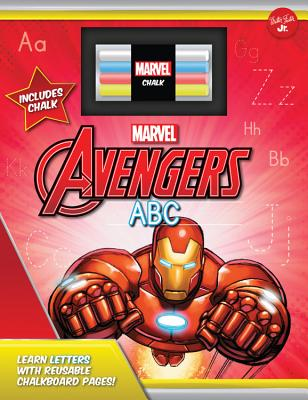 Marvel's Avengers Chalkboard ABC: Learn Letters with Reusable Chalkboard Pages! - Walter Foster Jr Creative Team