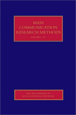 Mass Communication Research Methods - Hansen, Anders (Editor)