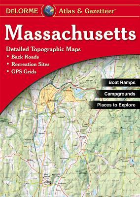 Massachusetts - Rand McNally, and Delorme Publishing Company, and DeLorme