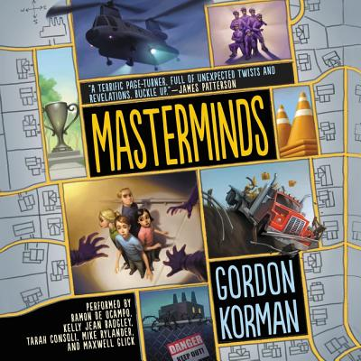 Masterminds - Korman, Gordon, and Various Narrators (Read by), and Badgley, Kelly Jean (Read by)