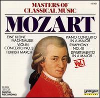 Masters of Classical Music, Vol. 1: Mozart - Béla Drahos (flute); Béla Kovács (clarinet); Bernd Heiser (horn); Budapest Wind Ensemble; Christian Altenburger (violin);...