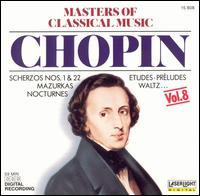 Masters of Classical Music, Vol. 8: Chopin - Evelyne Dubourg (piano); Jean-Marc Luisada (piano); Krzysztof Jablonski (piano); Stanislav Bunin (piano); Yuval Fichman (piano)