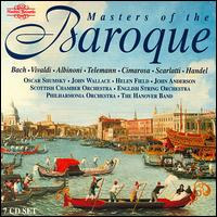 Masters of the Baroque - Andrew Carwood (vocals); Andrew Shulman (cello); Catherine Wyn-Rogers (vocals); Elisabeth Priday (vocals); Hanover Band;...