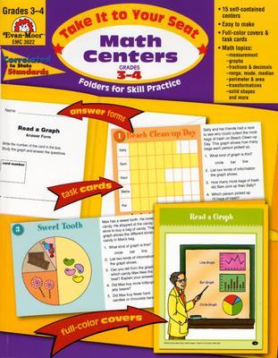 Math Centers Grades 3-4: EMC 3022 - Moore, Jo Ellen, and Norris, Jill