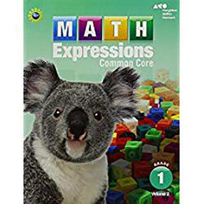 Math Expressions: Student Activity Book, Volume 2 (Softcover) Grade 1 - Houghton Mifflin Harcourt (Prepared for publication by)