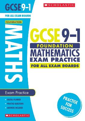 Maths Foundation Exam Practice Book for All Boards - Norman, Naomi