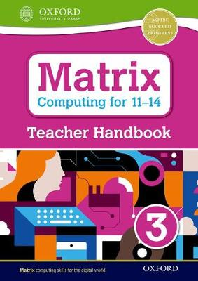 Matrix Computing for 11-14: Teacher Handbook 3 - Levine, Diane