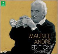 Maurice André Edition: Concertos, Vol. 1 - Bernard Gabel (trumpet); Bernard Soustrot (trumpet); Daniel Arrignon (oboe); Ensemble Orchestral de Paris;...