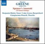 Maurice Green: Spenser's Amoretti (25 Sonnet Settings)