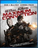 Maximum Conviction [2 Discs] [Blu-ray/DVD]
