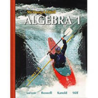 McDougal Littell Algebra 1: Students Edition 2007 - McDougal Littel (Prepared for publication by)