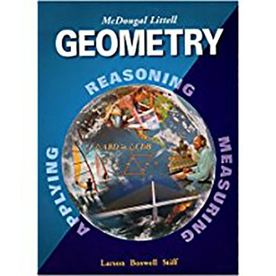 McDougal Littell High Geometry: Student Edition (C) 2004 2004 - McDougal Littel (Prepared for publication by)