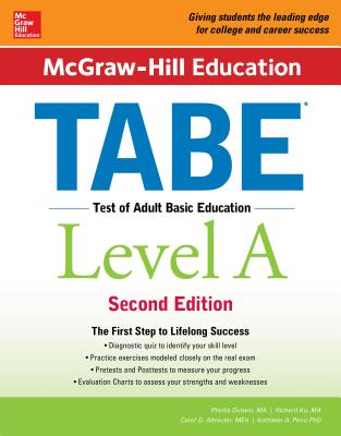 McGraw-Hill Education Tabe Level A, Second Edition - Dutwin, Phyllis, M.A., and Altreuter, Carol J, M.Ed., and Peno, Kathleen A