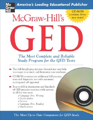 McGraw-Hill's GED W/ CD-ROM: The Most Complete and Reliable Study Program for the GED Tests - Mulcrone, Patricia, and Mulcrone Patricia