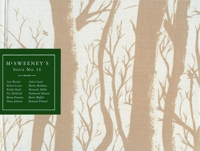 McSweeney's Quarterly Concern: Issue 16 - McSweeney's Books (Compiled by)