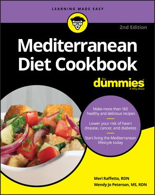 Mediterranean Diet Cookbook for Dummies - Raffetto, Meri, and Peterson, Wendy Jo