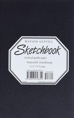 Medium Sketchbook (Kivar, Black) - Watson-Guptill