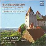 Mendelssohn: Concertos Nos. 1 & 2 for 2 pianos