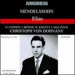 Mendelssohn: Elias