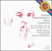 Mendelssohn: Piano Concertos - Murray Perahia (piano); Academy of St. Martin-in-the-Fields; Neville Marriner (conductor)