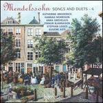 Mendelssohn: Songs & Duets, Vol. 4