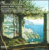 Mendelssohn: Songs & Duets, Vol. 5 - Anna Grevelius (mezzo-soprano); Eugene Asti (piano); Finnur Bjarnason (tenor); Hannah Morrison (soprano);...