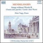Mendelssohn: Songs without Words II