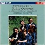 Mendelssohn: String Quartets Op.13 & Op.80