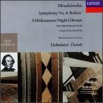 Mendelssohn: The Hebrides/Symphony No. 4/A Midsummer Night's Dream