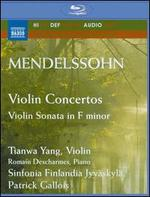 Mendelssohn: Violin Concertos; Violin Sonata in F minor