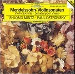 Mendelssohn: Violinsonaten