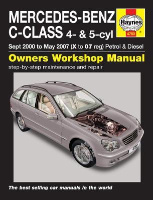Mercedes-Benz C-Class Service and Repair Manual -