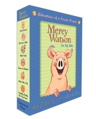 Mercy Watson Boxed Set: Adventures of a Porcine Wonder - DiCamillo, Kate