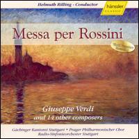Messa per Rossini, by Giuseppe Verdi and 12 other composers - Aage Haugland (bass); Alexandru Agache (baritone); Florence Quivar (alto); Gabriela Benacková (soprano);...