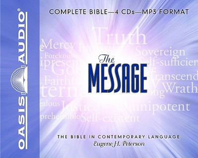 Message Bible-MS - Peterson, Eugene H