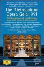 Metropolitan Opera Gala 1991 - 25th Anniversary at Lincoln Center