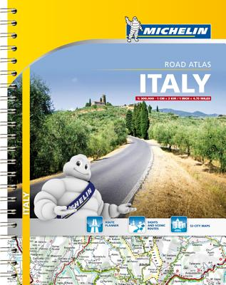 Michelin: Italy Road Atlas - Michelin