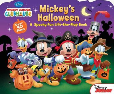 Mickey Mouse Clubhouse Mickey's Halloween - Disney Book Group, and Disney Storybook Art Team (Illustrator)
