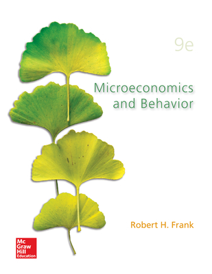 Microeconomics and Behavior - Frank, Robert H.