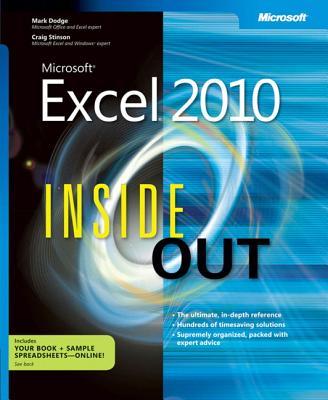Microsoft Excel 2010 Inside Out - Dodge, Mark
