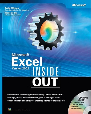 Microsoft Excel Version 2002 Inside Out - Stinson, Craig, and Dodge, Mark, and Stinson